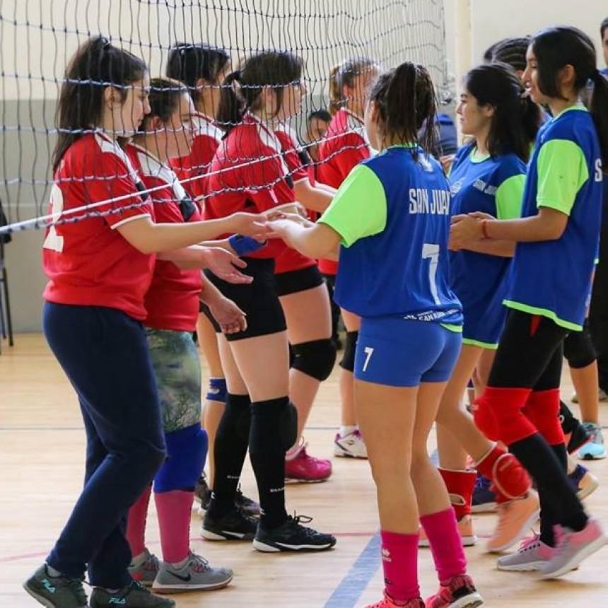 Se llevó a cabo un encuentro recreativo y deportivo entre San Luis y San Juan