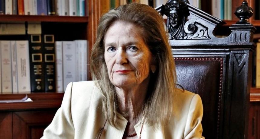 La Vicepresidenta de la Corte Suprema, Elena Highton de Nolasco visitará San Luis