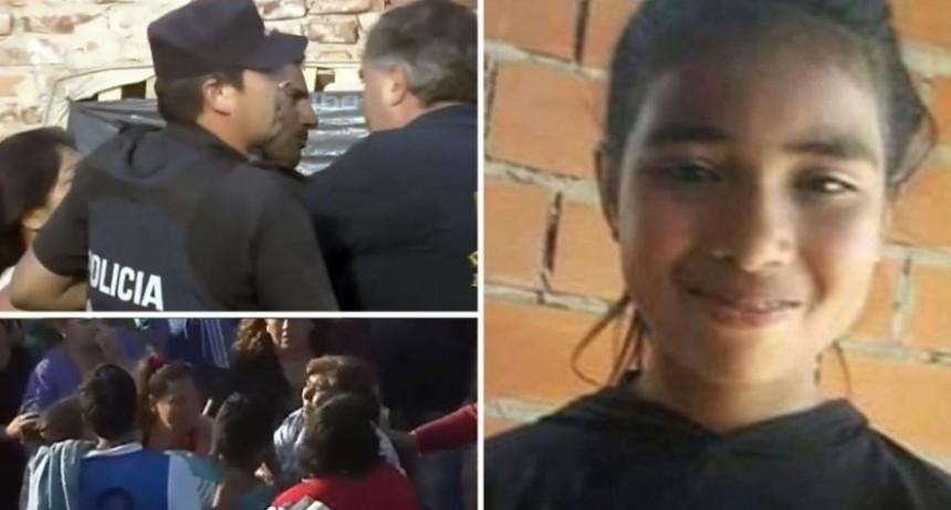 La policía encontró el cuerpo de Sheila en el mismo predio en que había desaparecido