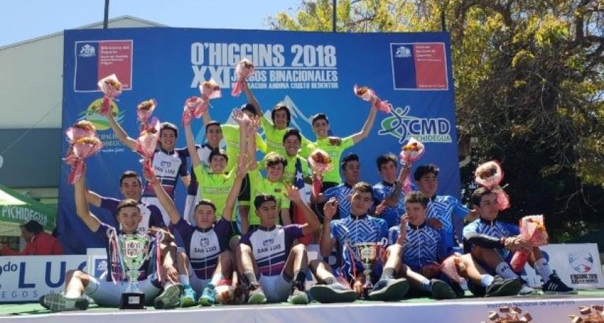 San Luis se despidió de los Juegos Binacionales con 15 conquistas