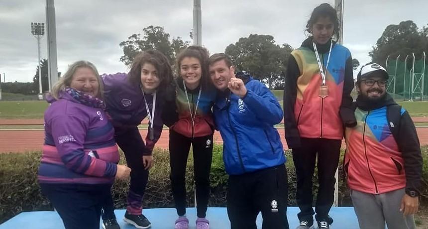 Juegos Evitas: Deporte adaptado dejó tres medallas en la primera jornada
