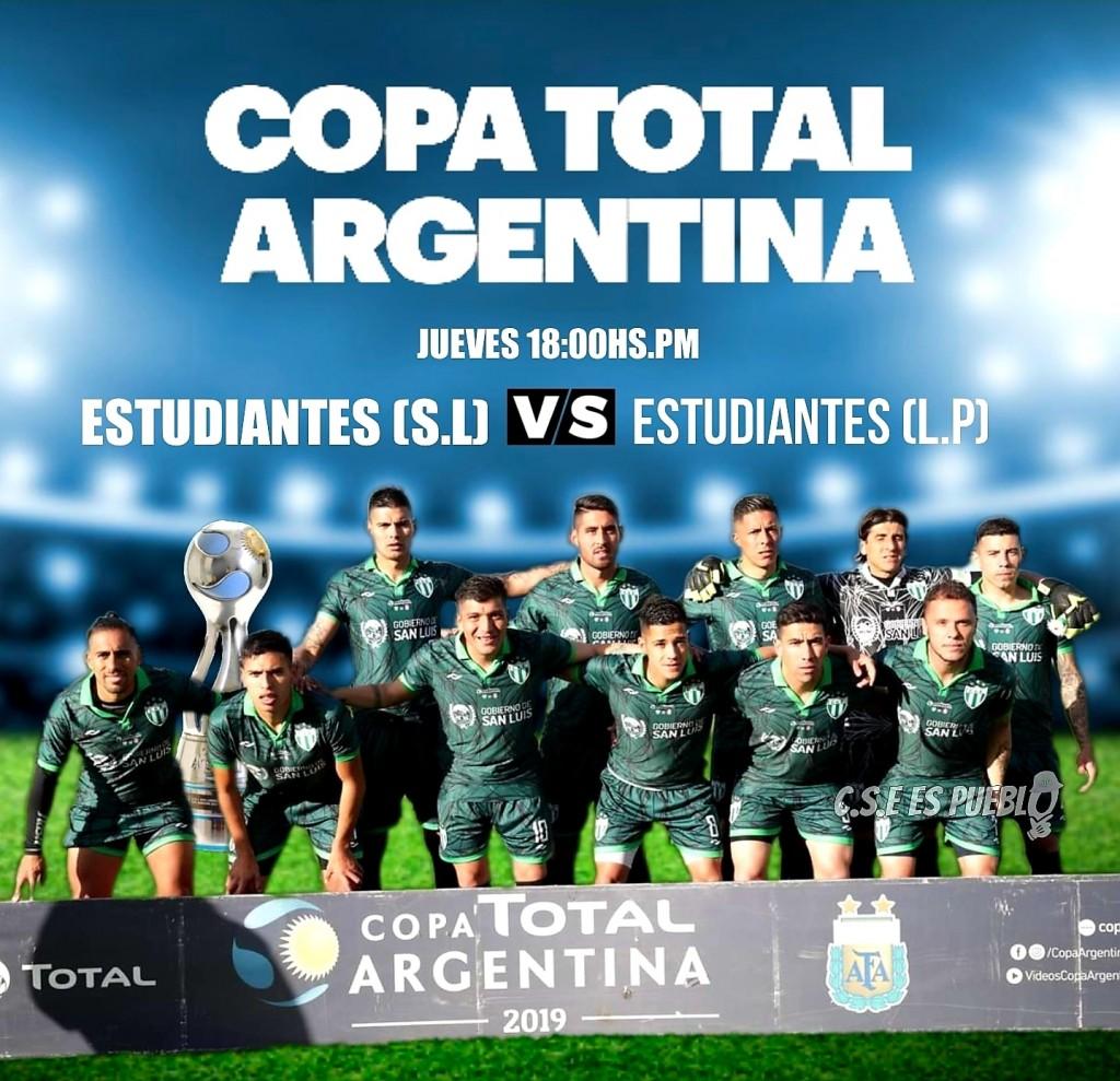Estudiantes quiere seguir haciendo historia en la Copa Argentina