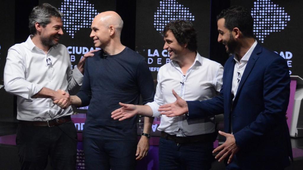 Debate porteño: los candidatos a jefe de Gobierno de la Ciudad expusieron sus ideas