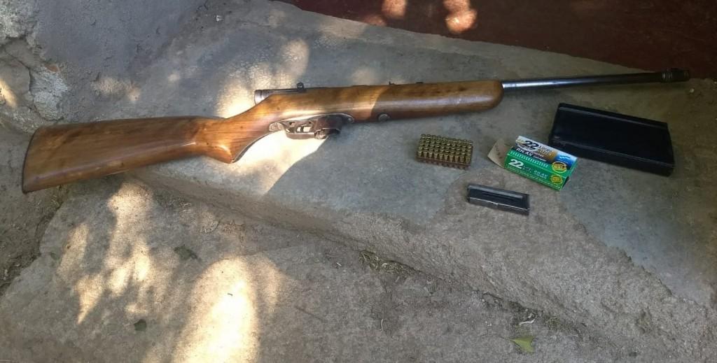San Francisco del Monte de Oro: detuvieron a un hombre por tenencia ilegal de armas