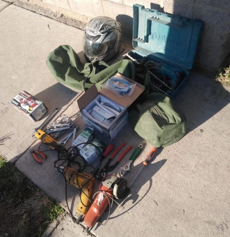 San Luis: detuvieron a un joven que robó elementos en una casa del sur de la ciudad