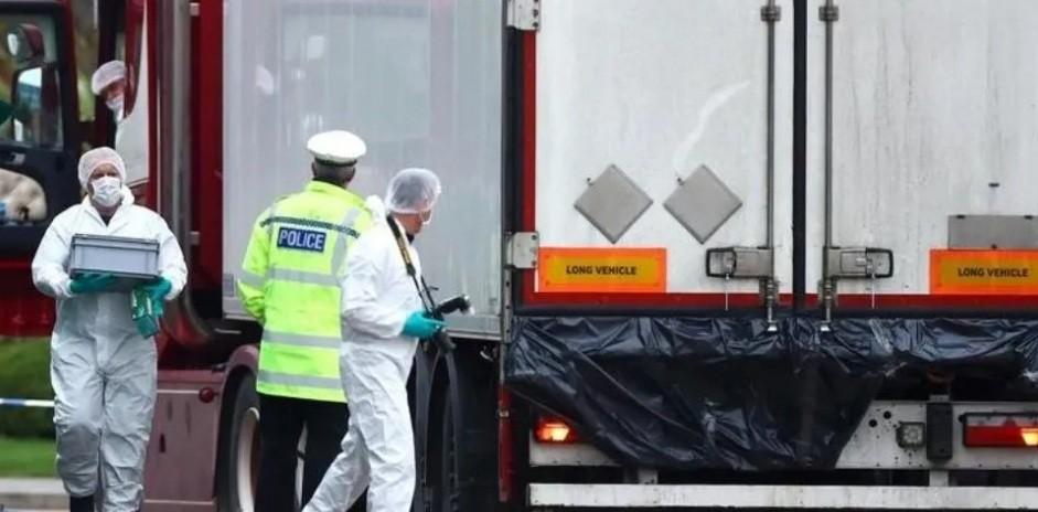 Tétricos detalles sobre la trágica muerte de 39 chinos en un camión