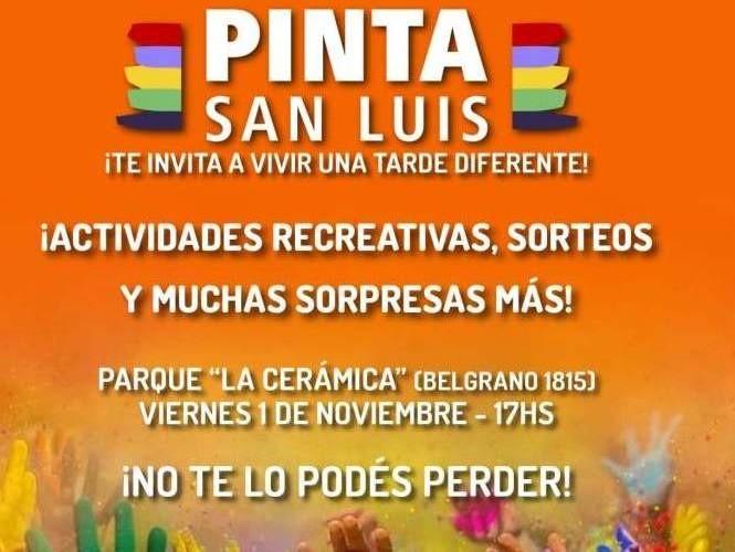 Pinta Fiesta: se viene un estallido de colores