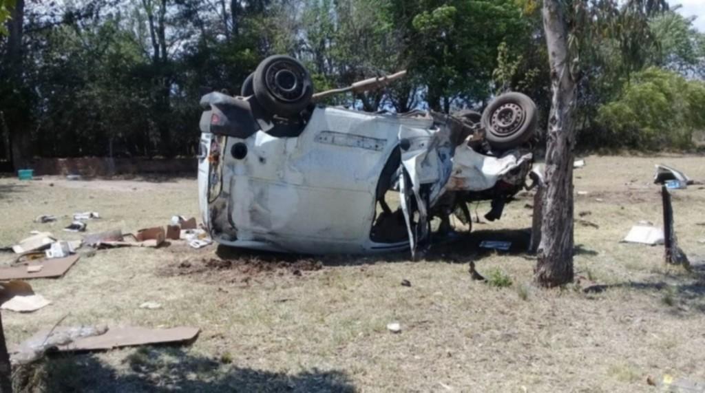 Juana Koslay: falleció el hombre que había volcado con su vehículo en Donovan