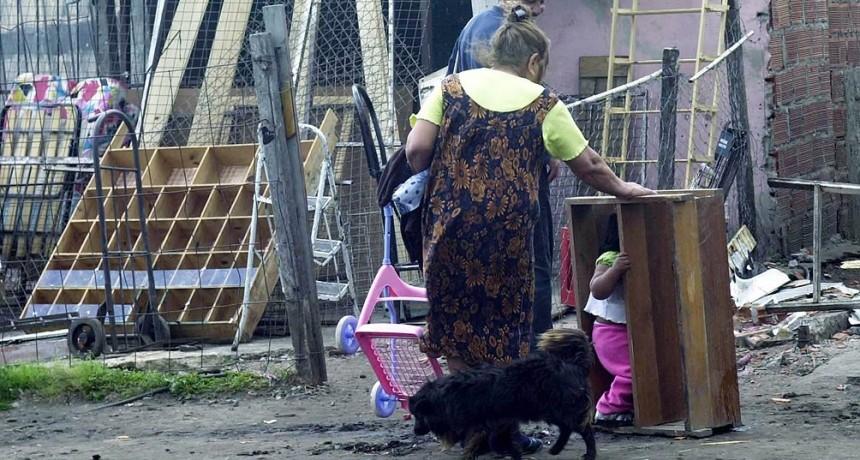 San Luis duplicó las cifras de pobreza en un año