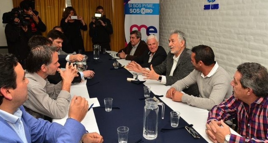El gobernador Alberto Rodríguez Saá mantuvo una reunión con la Cámara de Comercio de San Luis