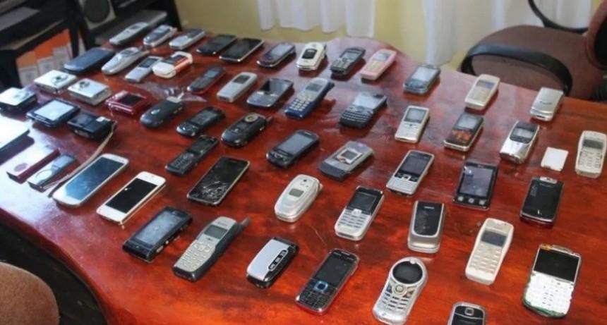 Incautan más de 20.000 celulares por año en cárceles bonaerenses