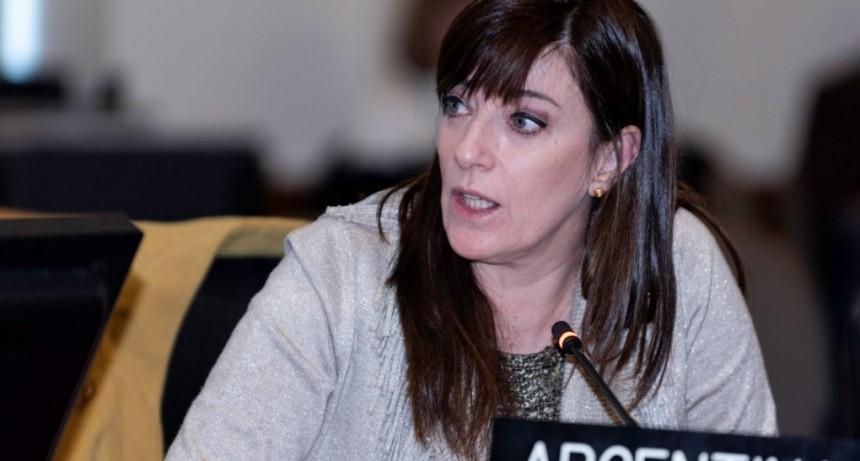 Paula Bertol renunció a la OEA para sumarse a la campaña del Sí se puede