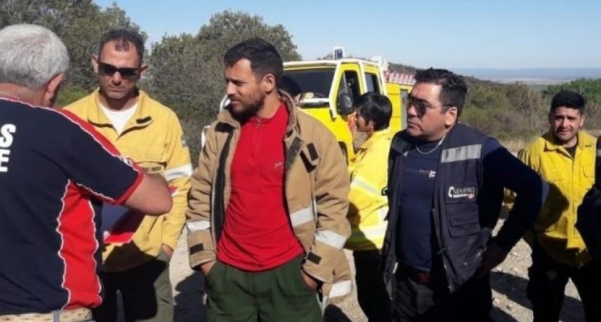 El incendio en Sierras de los Comechingones está controlado y siguen las guardias para evitar posibles reinicios
