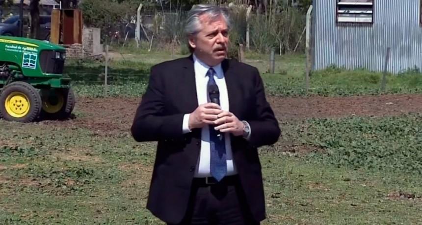 Alberto Fernández presentó el Acuerdo Federal Argentina contra el Hambre