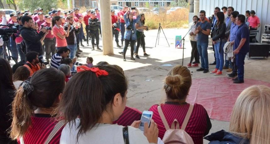 SCAC: se presentó la obra que integrará a más de diez barrios de la ciudad de San Luis