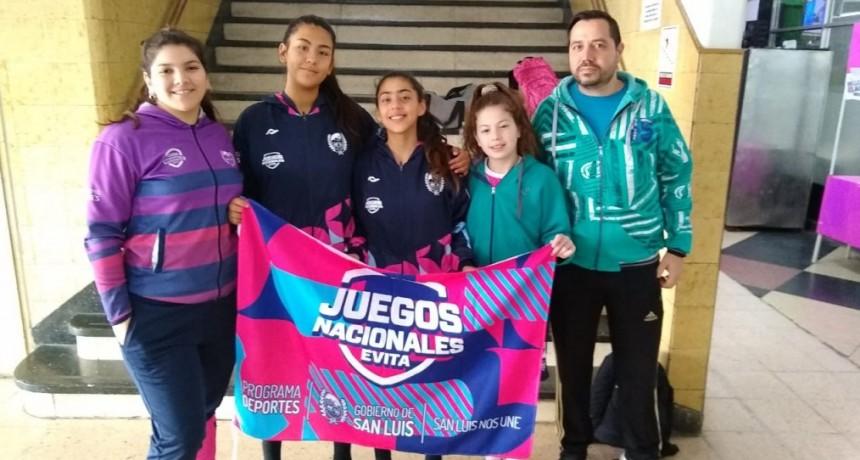 La actividad de San Luis en los Juegos Evita