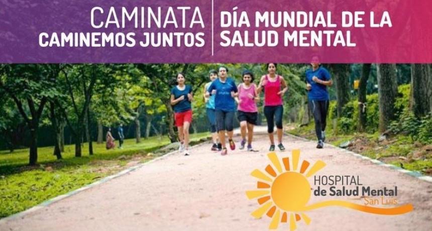 Realizarán una caminata por el Día Mundial de la Salud Mental