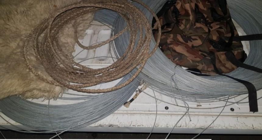 Nueva Galia: dos detenidos por robo