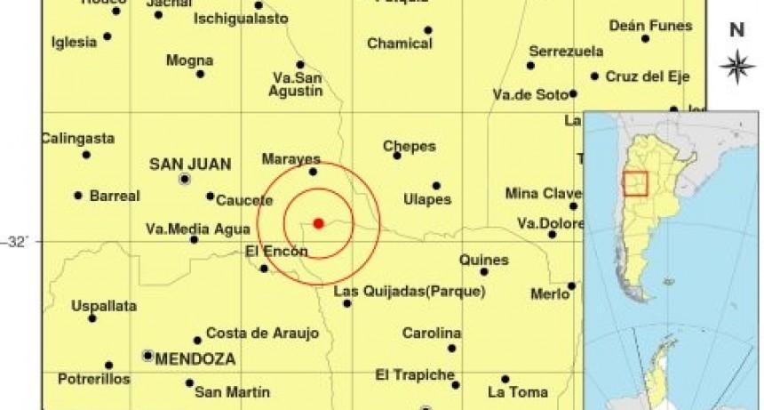 Tembló en San Juan y se sintió en el extremo noroeste de San Luis