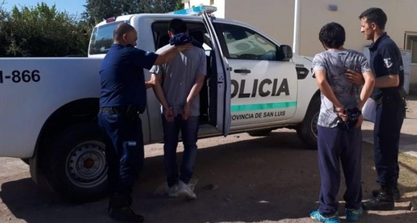 San Luis: tres hombres fueron enviados a la cárcel por robo