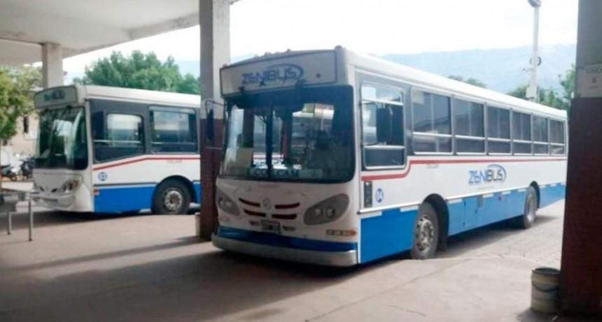 Ya rigen las nuevas tarifas en el boleto de transporte urbano de Merlo