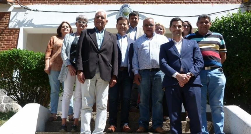 Rigau y Mones Ruiz se reunieron para organizar la conformación del Concejo Deliberante de El Trapiche