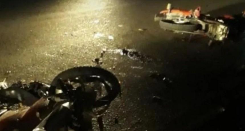 Una beba de un año falleció al chocar una moto en la que viajaban cuatro personas