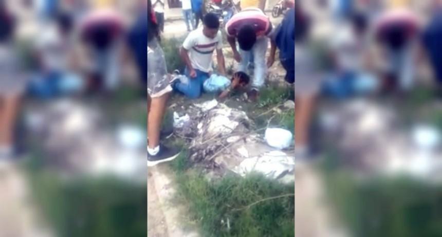 Santiago del Estero: intentaron linchar a un ladrón que robó una casa en Añatuya