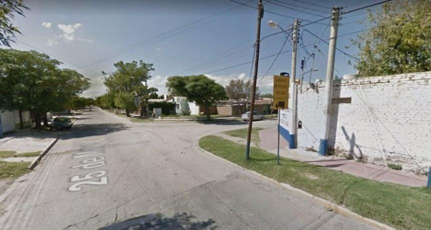 San Luis: Bomberos extinguieron un incendio en un depósito de una constructora