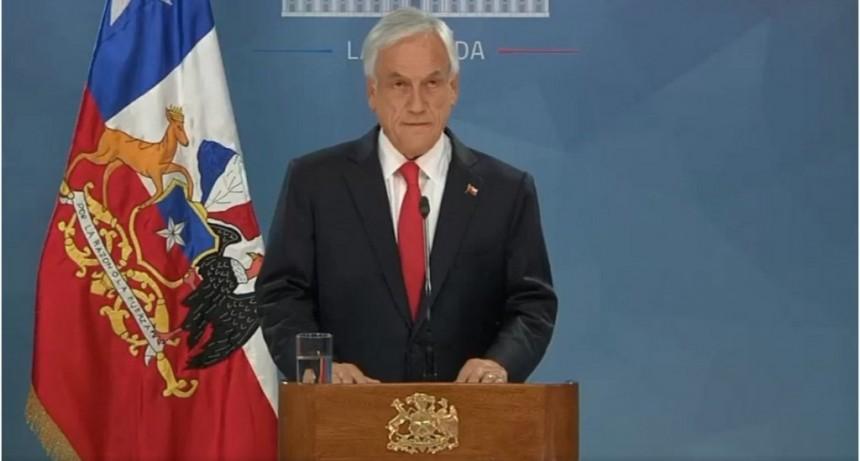 Piñera dijo que escuchó y anunció medidas para paliar la crisis social y política