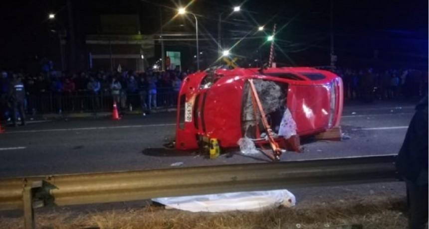 Chile: un automovilista embistió una manifestación y mató a dos personas