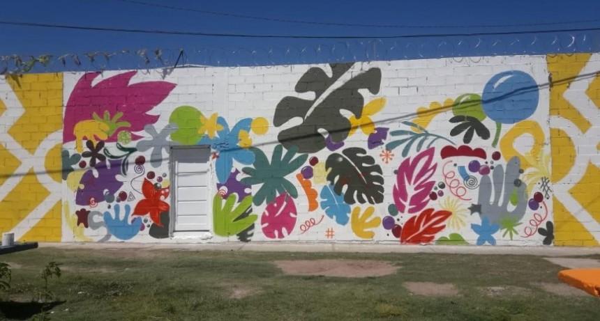El Programa Pinta San Luis le da color a tres barrios de la capital sanluiseña