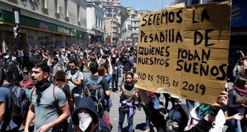 Sube el número de víctimas en Chile: ya son 18 los muertos
