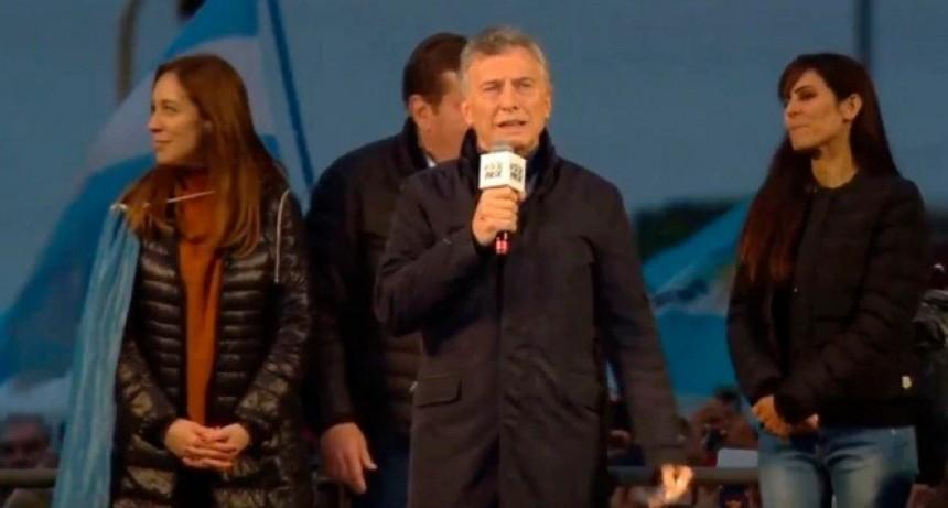 """""""Quieren que los que pensamos distinto nos callemos"""": Macri, en Mar del Plata"""