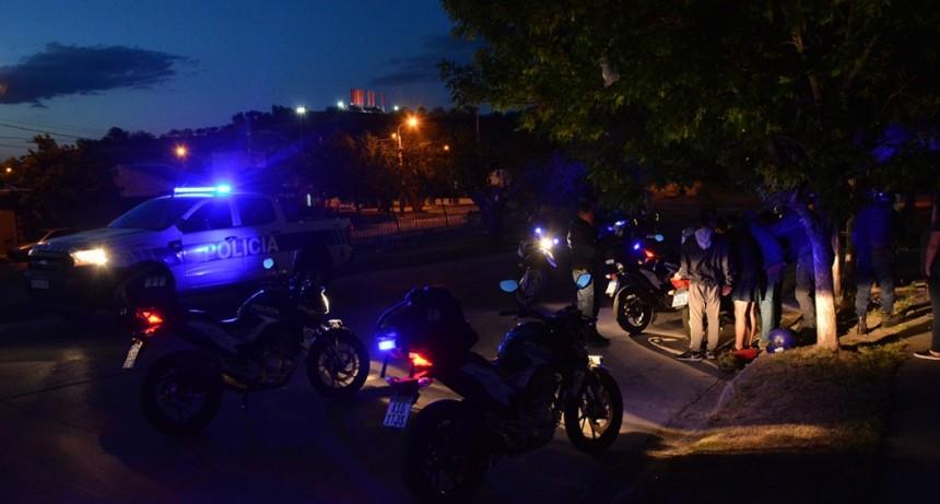 Megaoperativo Provincial: detuvieron a 5 personas, 105 motos y 9 autos fueron secuestrados
