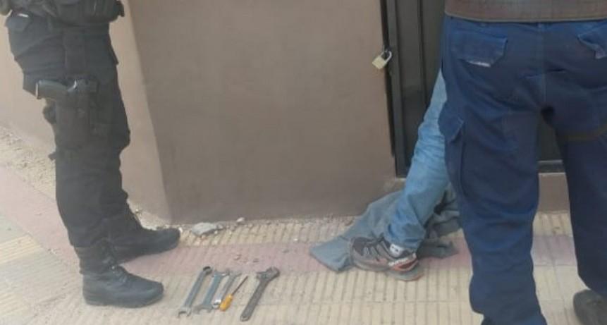 San Luis: detuvieron a un hombre que robó herramientas