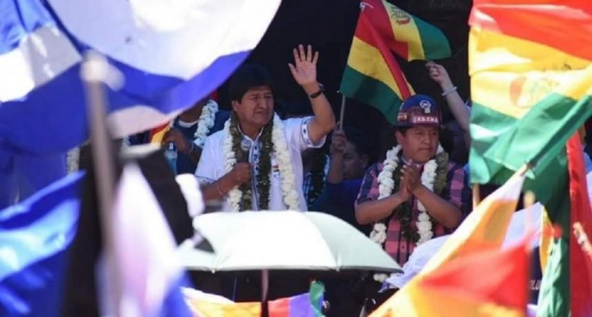 Evo Morales ganó las elecciones y encarará su cuarto mandato como presidente de Bolivia