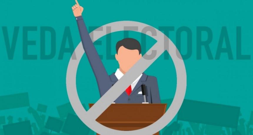 ¿Qué no se puede hacer durante la veda electoral?