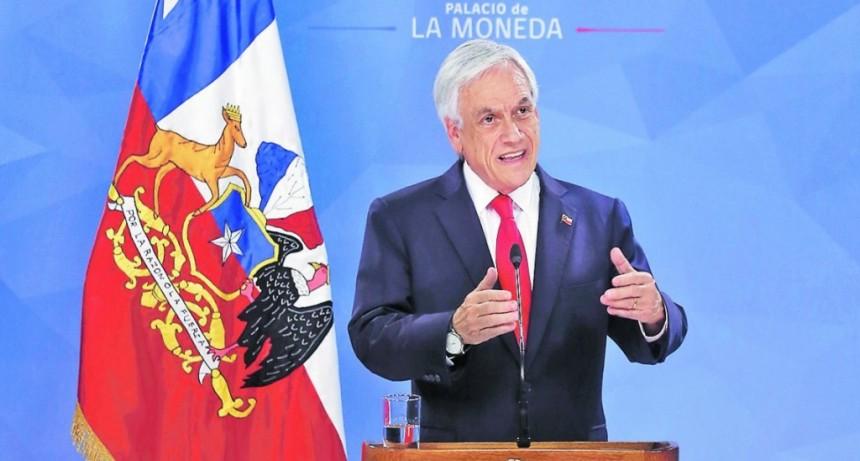 Sebastián Piñera le pidió a los ministros que pongan sus renuncias a disposición