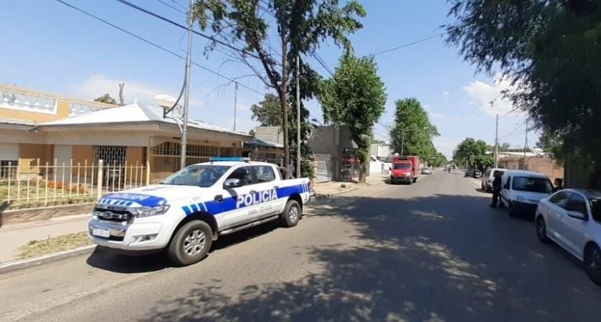 Villa Mercedes: encontraron a un hombre sin vida en una casa en construcción