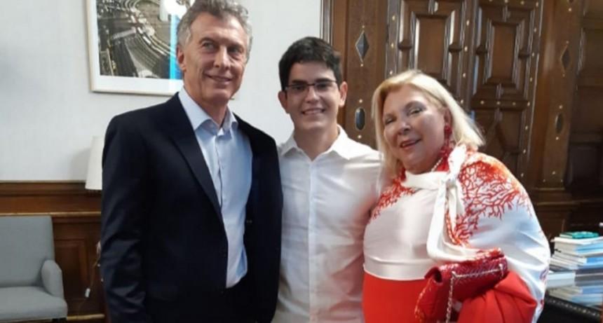 Carrió se despidió de Macri y anticipó que renuncia a la política