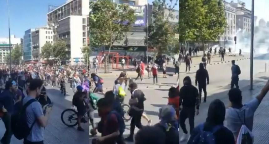 A pesar de los cambios de Piñera recrudece la represión a los manifestantes