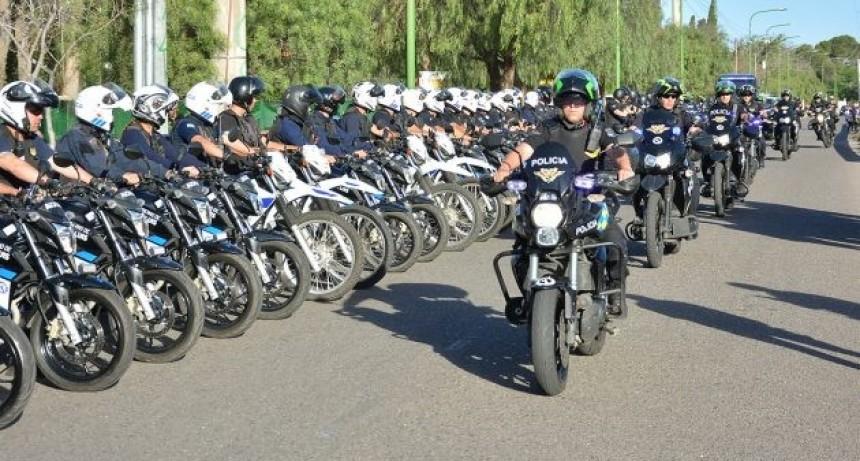 San Luis: La Policía desarrolló el cuarto megaoperativo de seguridad en la ciudad capital