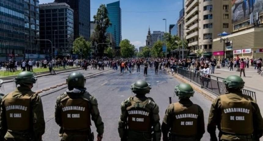 Segunda Marcha de los chilenos que viven en San Luis