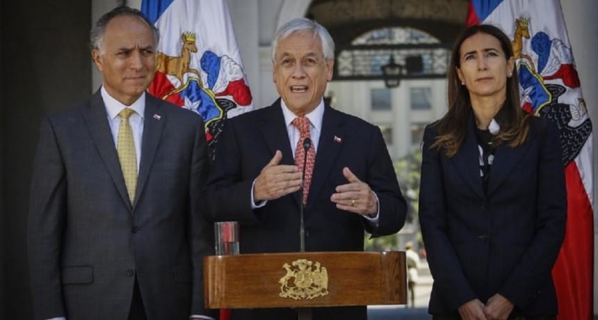 Chile: Piñera suspendió la cumbre de APEC y una conferencia de la ONU sobre cambio climático