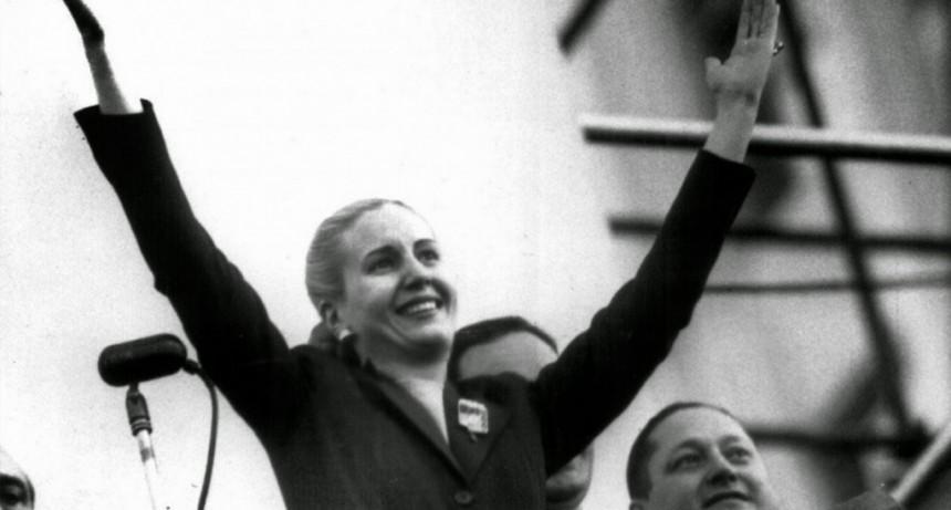 La CGT le pidió a la Iglesia que beatifique a Eva Perón