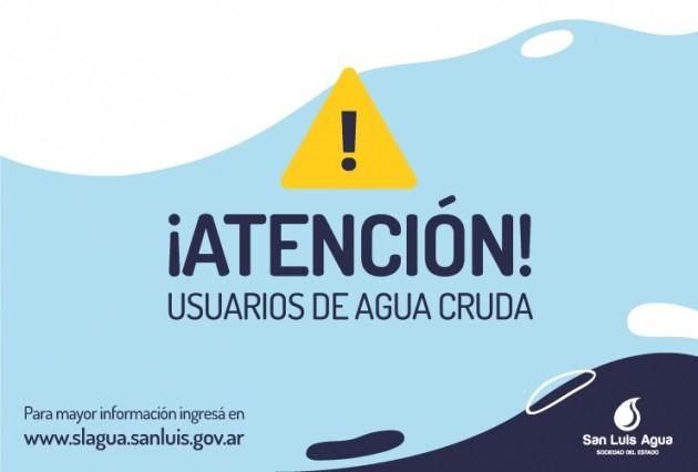Detectaron un desperfecto en el Acueducto Potrero de los Funes