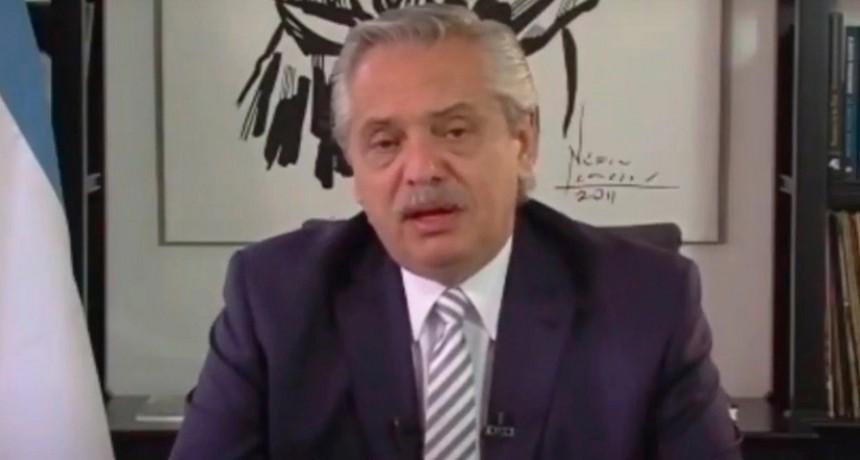 Alberto Fernández en el coloquio de IDEA: