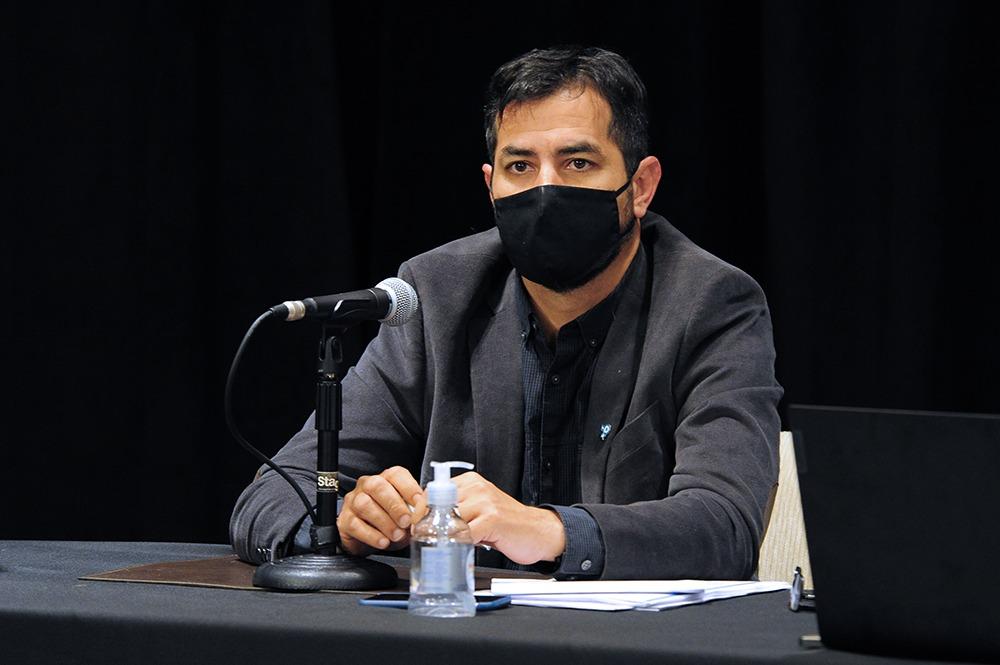 """Sebastián Lavandeira: """"Algunos camioneros piden algo inviable en una pandemia, piden entrar sin control"""""""