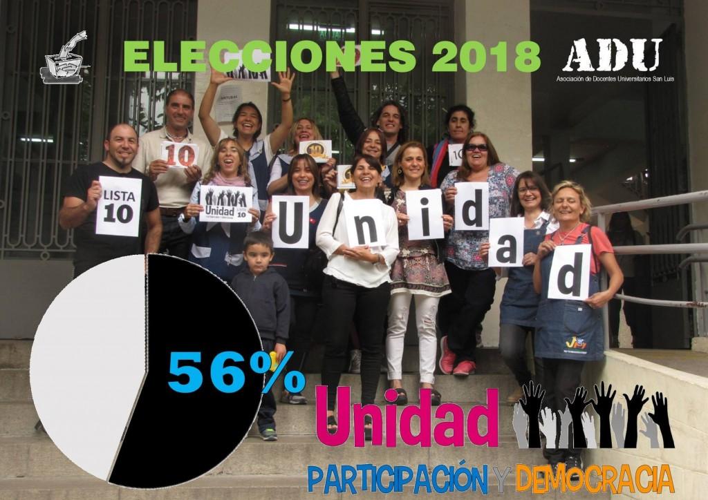 La oposición ganó las elecciones en ADU